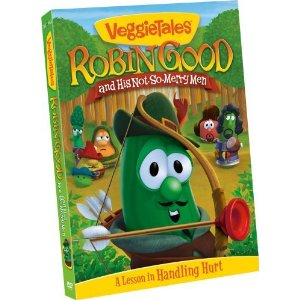Review:  Robin Good and His Not-So-Merry Men Veggie Tales DVD
