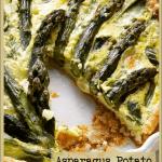 Asparagus Potato Egg Bake