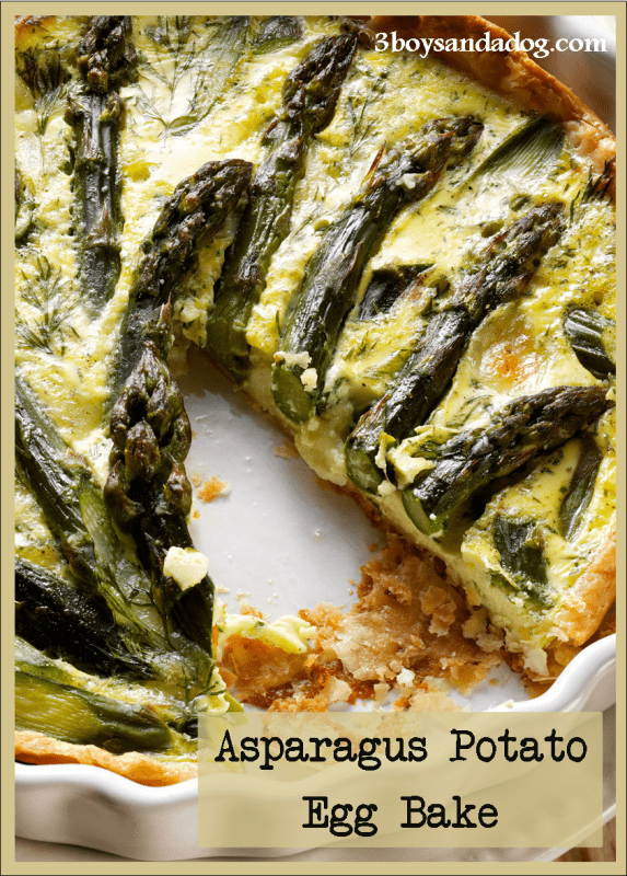 Asparagus Potato Egg Bake