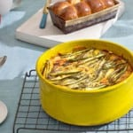 Asparagus and Potato Egg Bake