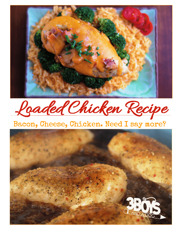 Delicious Loaded Chicken Recipe