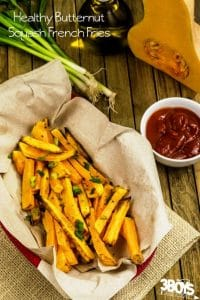 Healthy Butternut Squash Fries Recipe