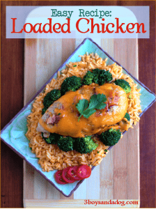 Loaded Chicken Breasts Recipe