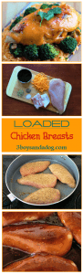 Loaded Chicken Breasts Recipe
