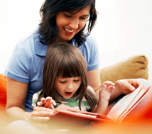 Reading with, Not to Your Child