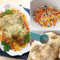 Slow Cooker Whole Fryer Chicken Recipe