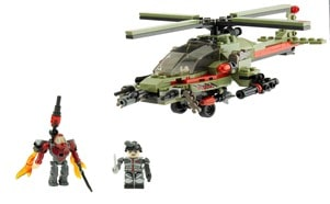 KREO BATTLESHIP COMBAT CHOPPER 38954