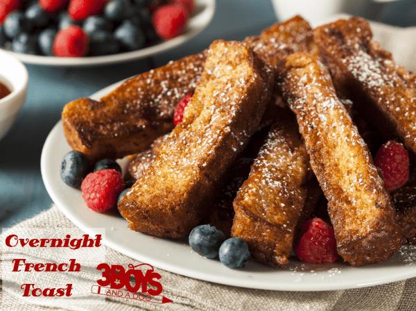 Homemade overnight french toast recipe