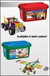 REVIEW: K'NEX 400 piece tub & Sesame Street