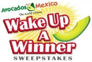 Avocado Toast recipe and Wake Up a Winner Sweepstakes #iloveavocados