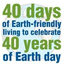 CONTEST DAY 1: Elmer's 40 Days of Earth-Friendly Living