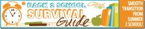 REVIEW:  Back 2 School Survival Guide #backtoschool