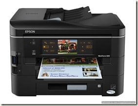 GIVEAWAY: Epson WorkForce 840 All in One Printer