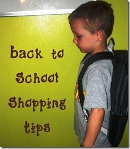 A Teachable Moment:  Shopping for #BacktoSchool