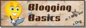 Blogging Basics: Week Three of 12 Weeks to Goal #12weeks