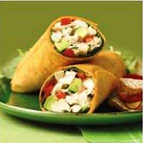 Lunchbox Recipe: CHICKEN AVOCADO WRAPS