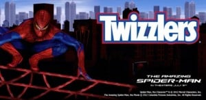 Spiderman Prize Pack from Twizzlers