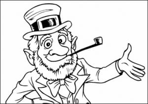 Free Saint Patrick's Day Coloring Book
