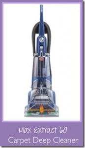 REVIEW:  Hoover Max Extract 60 Carpet Cleaner