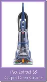 review hoover max extract 60 carpet cleaner 3 boys and a dog. Black Bedroom Furniture Sets. Home Design Ideas