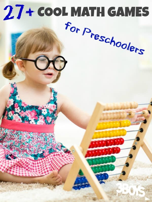 Cool Math Games for Preschoolers