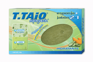 GIVEAWAY:  T-Taio Soap and Sponge (gift guide winner)