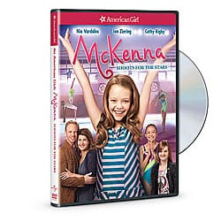 GIVEAWAY: AN AMERICAN GIRL: MCKENNA SHOOTS FOR THE STARS DVD and Blu-Ray
