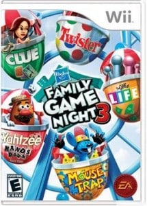 GIVEAWAY:  Hasbro Family Game Night 3