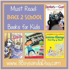 Great Back to School Books!