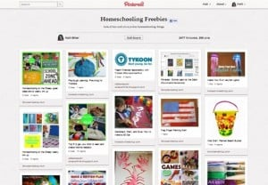 Pinterest:  Homeschooling Freebies
