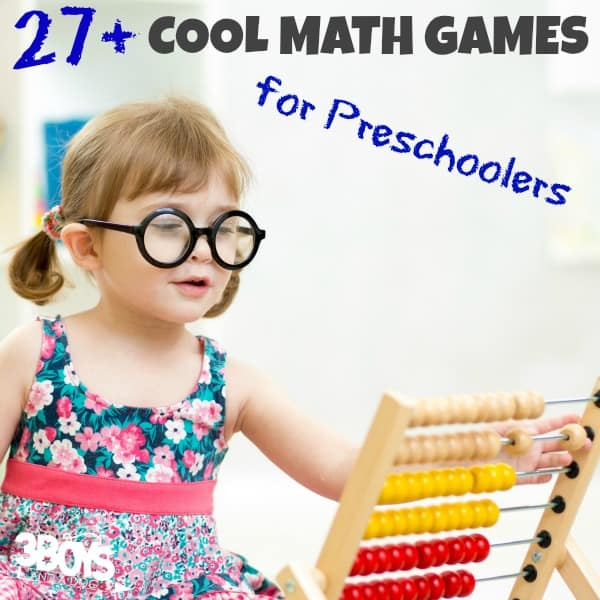 Over 27 Cool Math Games for Preschoolers
