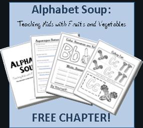 Alphabet Soup:  Chapter 2 Bananas FREE!