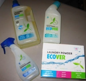 REVIEW:  ECOVER Household & Personal Cleaners