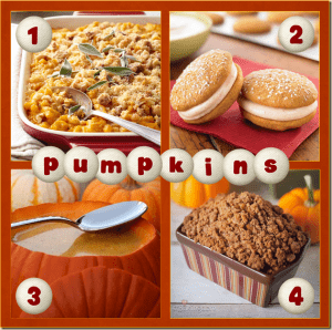 Pinterest Faves:  Yummy Pumpkin Recipes