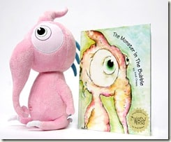 GIVEAWAY:  Squeek and The Monster in the Bubble (Gift Guide Winner)
