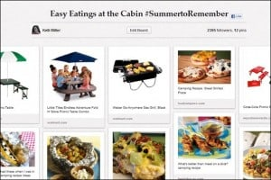 Pinterest: Easy Eatings at the Cabin #SummertoRemember