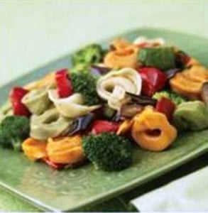 Lunchbox Recipe: TORTELLINI and VEGETABLE SALAD