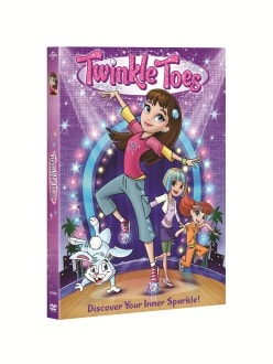 TWINKLE TOES DVD Box Art
