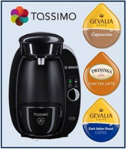 GIVEAWAY:  TASSIMO T20 brewer with 3 Coffees and Teas (Value $125.00+)