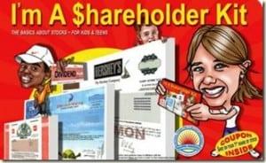 GIVEAWAY: I am a Shareholder Kit (gift guide winner)