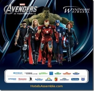 GIVEAWAY: Wyndham Teams Up with Avengers Movie!