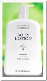 FREE SAMPLE:  Kirkland Signature Body Lotion