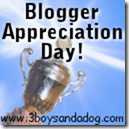 Blogger Appreciation Day:  Thanks for sending me traffic!