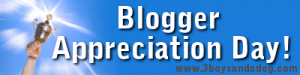 Blogger Appreciation Day: November 2010