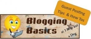 Blogging Basics:  Promoting a Post with Guest Posts! (part 1)