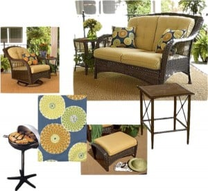 Perfect Backyard Labor Day Party Style at Kmart! #CBias #KmartOutdoor