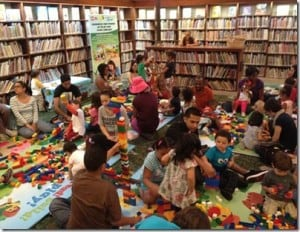 READ!  Build!  Play! At a Library Near you!