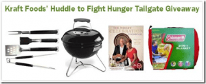 GIVEAWAY: Huddle to Fight Hunger Tailgate Party #KraftFightHunger