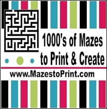 Homeschooling Notes: Make and Print Your Own Mazes