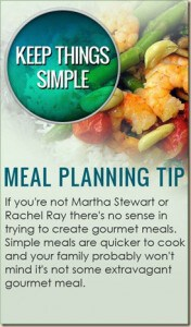 Meal Planning Tip 10: Super Simple!